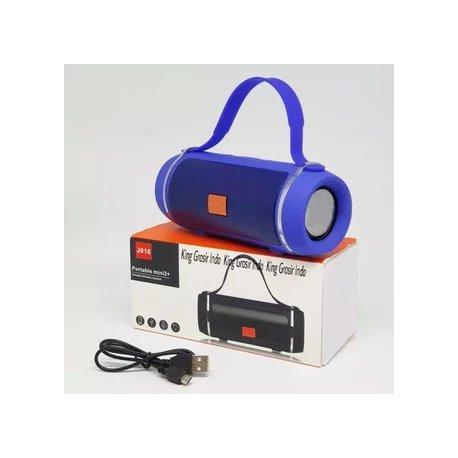 T&G J016 Portable Mini 2 Speaker Bluetooth Blue