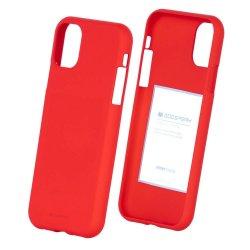IPhone 11 Pro Max Back Case Soft Feeling Mercury Red