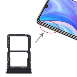 Huawei P Smart S/Y8P Sim Tray Black Original