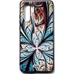 Huawei P30 Pro Botey Design Silicone Case Leave