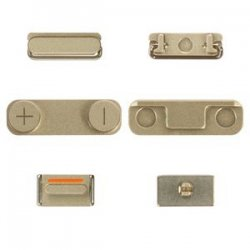 IPhone 5/5S Side Buttons Set Gold