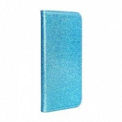 Huawei P10 Lite Magnet Book Case Glitter Blue