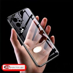 OnePlus 9 Pro Colored Buttons Case Transperant