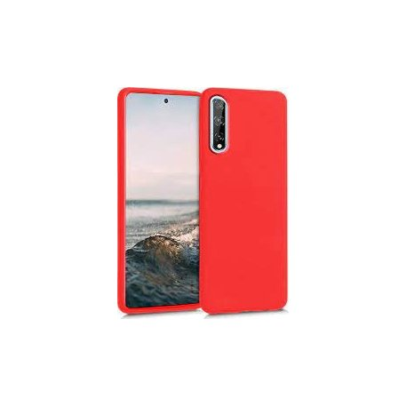 Huawei P Smart S/Y8P/Honor 10S Level Guardian Soft Silicone Cover Case Red