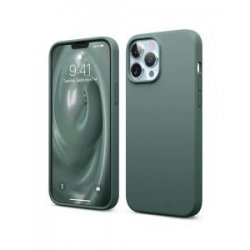 IPhone 13 Pro Max Silky And Soft Touch Finish Silicone Case Green