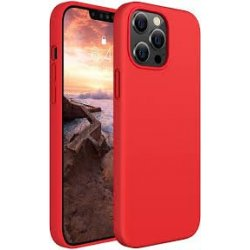 IPhone 13 Pro Max Silicone Case Red