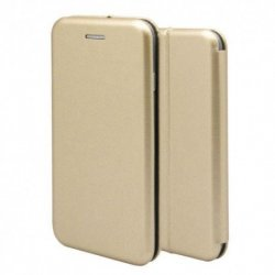 IPhone 13 Pro Max Book Case Magnet Hard Gold