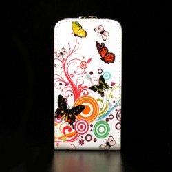 LG G2 Flip Case Butterfly