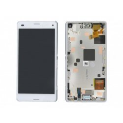 Sony Xperia Z3 Compact Lcd+Touch with Frame white