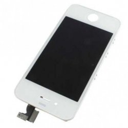 IPHONE 4S LCD +TOUCH SCREEN WHITE AAA