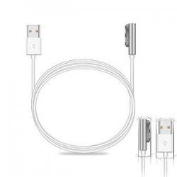 Μαγνητική καλωδιακή / Λευκό / Sony Xperia Ζ3 / Z3 συμπαγές / Ζ2 / Ζ2 συμπαγές / Ζ1