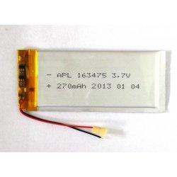 Universal Battery 163475 270 mAh