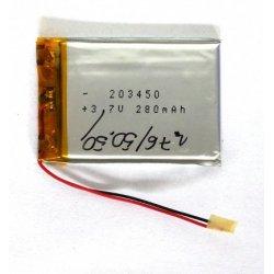 Universal Battery 203450 280 mAh