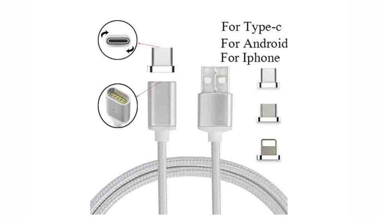 kouvolsen-x15-magnetic-cable-3-in-1-micro-usb-type-c-lighting-fast-charging-white